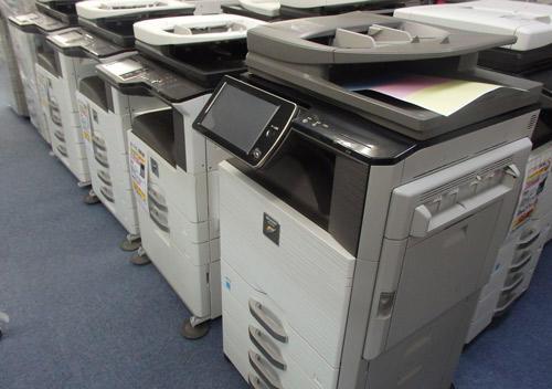 主力商材の中古OA機器
