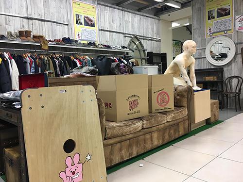 東急ハンズ渋谷店で展開した期間限定リユース店