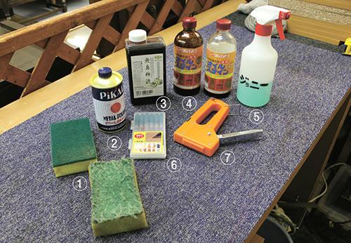 これで家具を再商品化 齊藤さんの七つ道具
