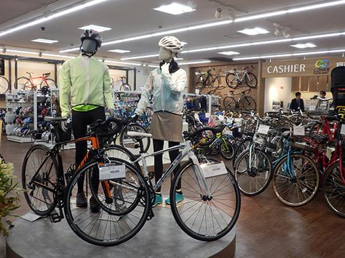 メンテ済み自転車を販売する
