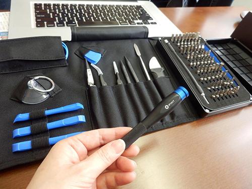 アイフィックスが販売している修理工具のセット