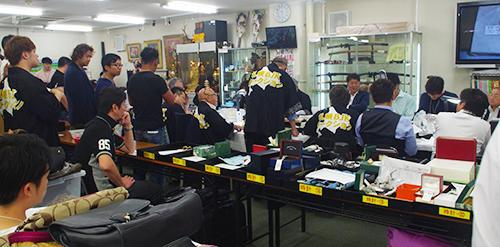 6月の札幌BJK「宝石・時計大会」の様子