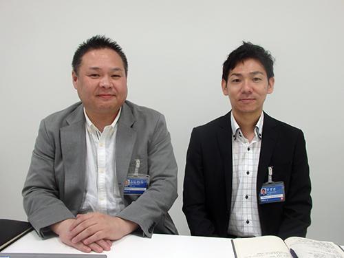 GMOカーズ 藤原呂也COO(左)、鈴木剛氏