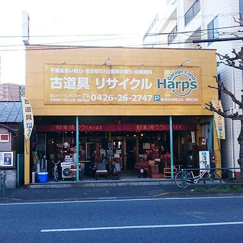 見通しの良い通り沿いにある店舗