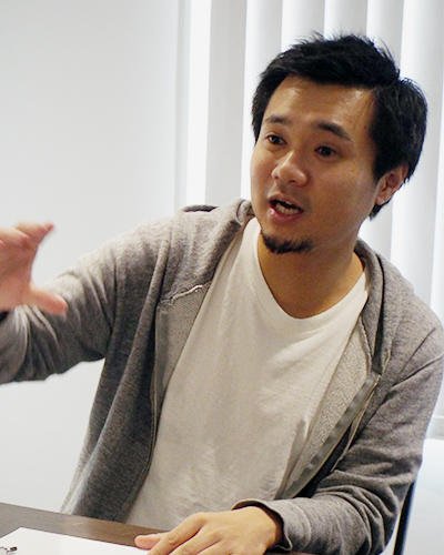 バンク代表取締役兼CEO 光本勇介氏