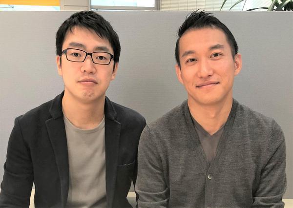 榎本慧太社長と大野正稔取締役