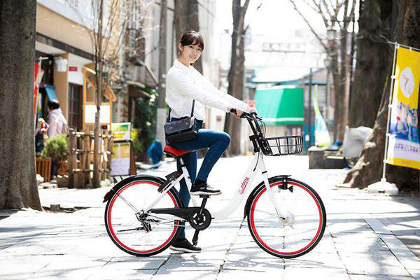 自社オリジナルの自転車