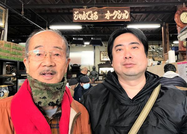 濱本孝夫会長と吉本成人氏