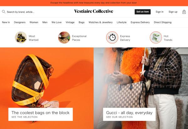 ヴェスティエール・コレクティブのサイト