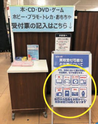 一部店舗では、3密回避の売場制限に伴い、カウンターでお客が待たないように精算は翌日以降とした