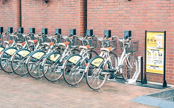 都市部でシェアサイクル利用が増加