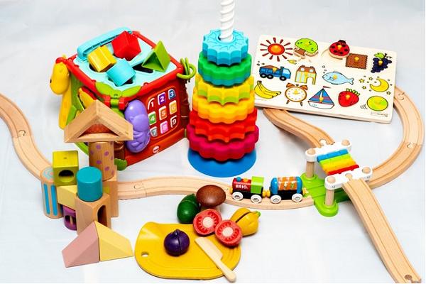 「トイサブ!」で貸し出すおもちゃの一例