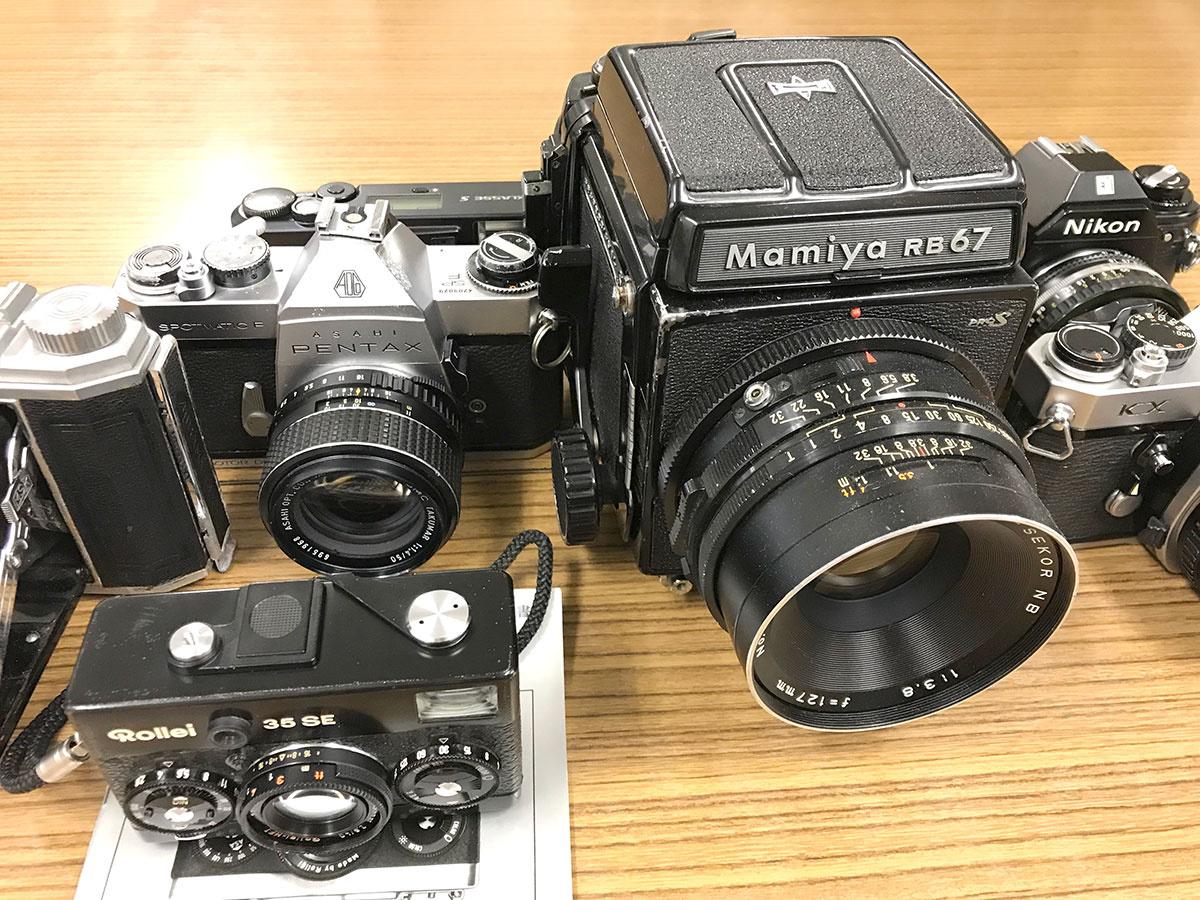 日本の古いフィルムカメラは海外で需要がある