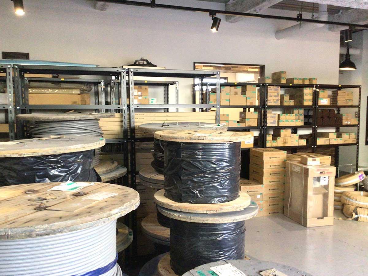 戸田の倉庫