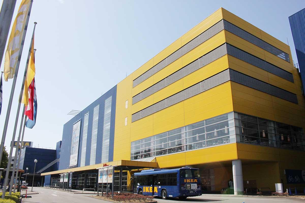 IKEA港北の外観
