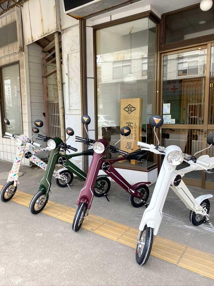 保有する電動バイク