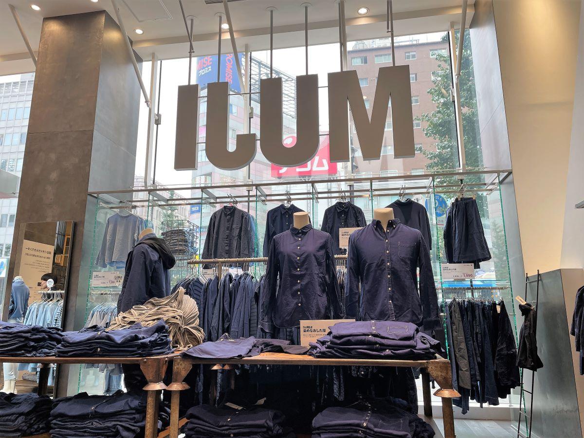 1階の衣料品売り場は大半が古着