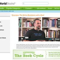 Better World Books(アメリカ)、大学や図書館から教科書や不要本回収する社会的企業