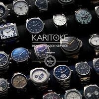 クローバーラボ、男性向け時計レンタル「KARITOKE」