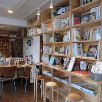 《ブックカフェ探訪№10》「食」をテーマにした本をセレクト