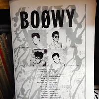 《売れる商品リサーチ》BOOWYのブックレット