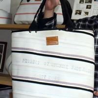 《売れる商品リサーチ》 消防ホース素材のバッグ