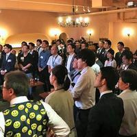 TMコミュニケーションサービス 三井恒雄社長主催の「リユース会」に、100人以上が集る