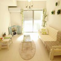 フローラル マンション室内装飾品をリユース