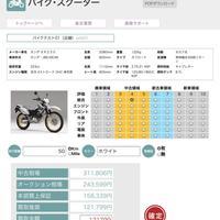 バイクの査定システム 総合リ店の活用見込む