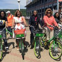 全米50以上の都市で展開するドックレス式シェアバイクサービス