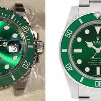 《ブランド時計真贋 Case.89》ロレックス サブマリーナデイト グリーンベゼル116610LV