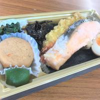 【古物イチバめし53】ヴィンテージカメラオークション、大きくて肉厚な鮭 鮭塩焼き二段海苔重