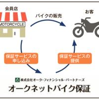 オークネット、中古バイク保証サービス提供 会員制度の付加価値向上目指す