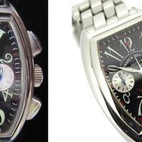 《ブランド時計真贋 Case.91》フランクミュラー コンキスタドール クロノグラフ