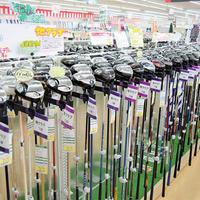 ゴルフドゥ!荒川沖店、マニアック商材で集客を図る「地クラブ」から「シブコ」モデルまで