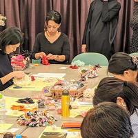 リクラ、リユース着物の糸を活用 日本香堂Gとコラボしイベント