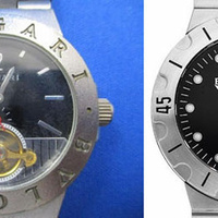 ブランド時計真贋、ブルガリ ディアゴノスクーバ SD38S