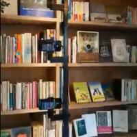 ふうせんかずら、無人古書店を24時間ライブ放送