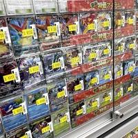 ブックオフ、中古・新品トレカを強化 前橋店は在庫1.5万枚