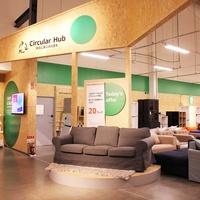 イケア、日本初「Circular Hub」をIKEA港北にオープン