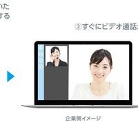 NTTコム、「ビデオトーク」で気軽にビデオ査定