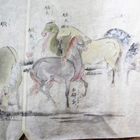 近代書房、思い出の一冊「百馬之図」