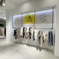 オンワード樫山、リペアやリユース販売機能を備えたOMO型店舗オープン