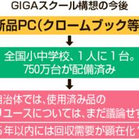 GIGAスクール構想のPC750万台、処分方法は「未定」...リユース事業者は自治体と提携模索