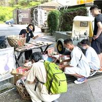玉川温泉がフリマを主催、様々な年齢層から注目を集める