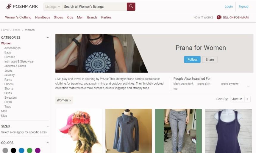 ファッションフリマアプリPoshmarkの人気の理由は簡単な売買と